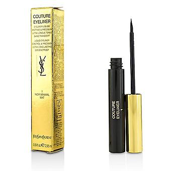 Yves Saint Laurent Couture Flüssig-Eyeliner - # 1 Noir Minimal Mat - 2.95ml/0.09oz