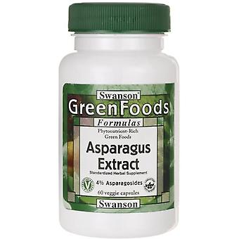 Swanson Asparagus Extract 60 Capsules