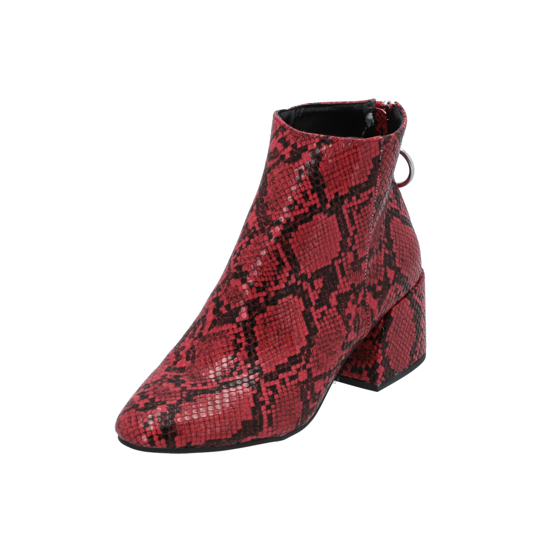 Dorothy Perkins ADORE Damen Stiefel Rot Schnür-Stiefelette Winter OUhXS