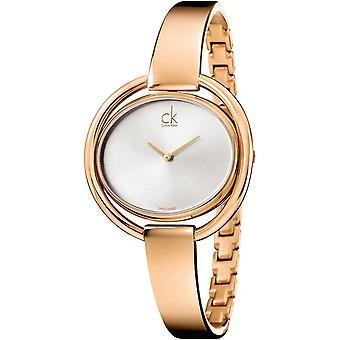 Calvin Klein K4F2N616 Impetuous Silver Dial Ladies Watch