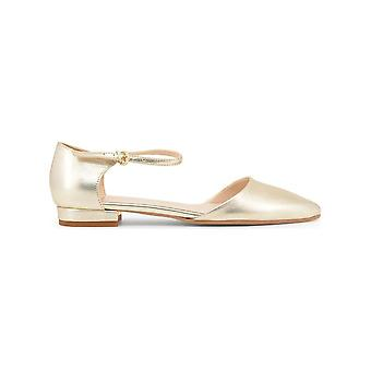Made in Italia - Shoes - Ballerinas - BACIAMI NAPPA_PLATINO - Women - Gold - 39