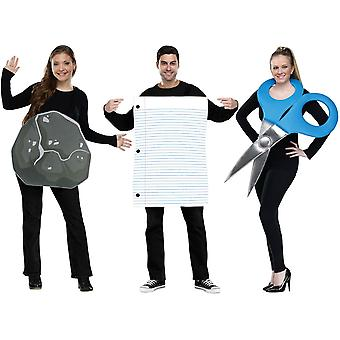 Rock Paper Scissirs adulte Costume
