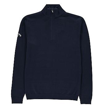 Callaway Kids Zip Sweater Jumper Pullover Long Sleeve High Neck Top