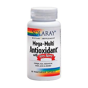 Mega Multi Antioxidant with Very Berry 60 vegetable capsules