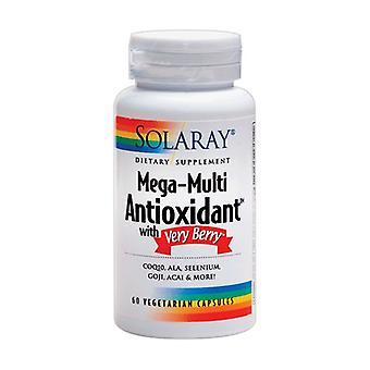 Mega Multi Antioxidant med mycket Bär 60 vegetabiliska kapslar