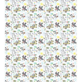 """Craft Consortium Decoupage Papers 13.75""""X15.75"""" 3/Pkg-Kid's Friends"""