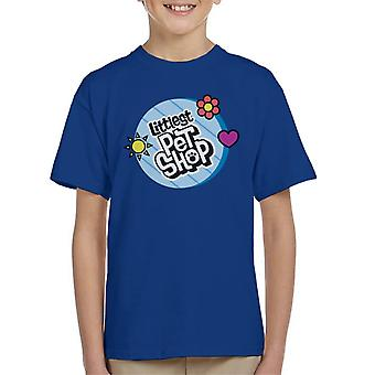 Littlest Pet Shop Circle Logo Kid's T-Shirt