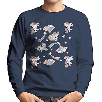 My Little Pony Unicorn Pattern Men-apos;s Sweatshirt
