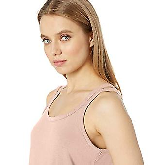 Brand - Daily Ritual Kvinnor & apos; s Supersoft Terry Double-Strap Tank, Rose, ...