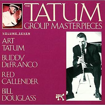 Tatum/Defranco/Callender - Tatum Group Masterpieces No. 7 [CD] USA import
