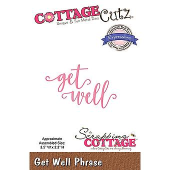 Scrapping Cottage Get Well Phrase