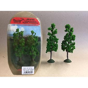 Countryside Trees Type 16 - 2 x 140mm OO Gauge