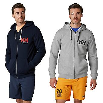 Helly Hansen Mens 2020 HH Logo Full Zip French Terry Cotton Comfort Hoodie