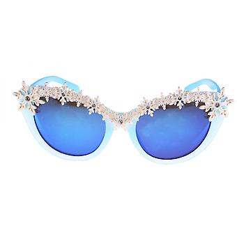 Sunglasses Girl Frozen 2 Butterfly Cat. 3 blue/white