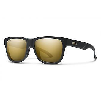 Sonnenbrille Unisex Lowdown Slim 2  matt schwarz/ gold