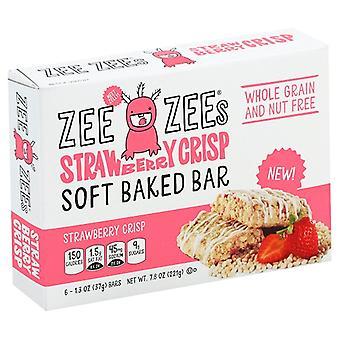 Zee Zee's Yumuşak Fırın Barlar Çilek Gevrek