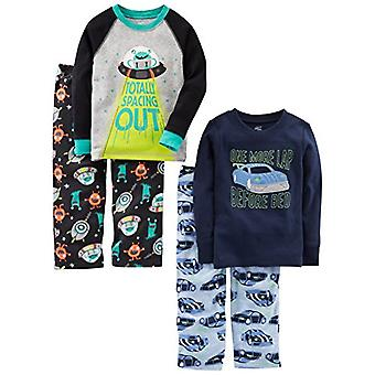 Simple Joys de Carterăs Baby Boysă Toddler 4-Piece Pijama Set, Racer Cars/Spa...