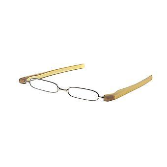 قراءة نظارات للجنسين الكسارة قوة صفراء +2.00 (le-0128C)