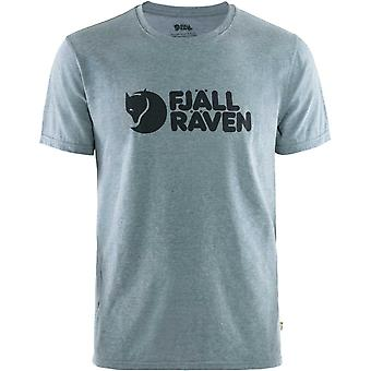 Camiseta con logotipo de Fjallraven - ONU Blue