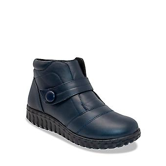 Dr Lightfoot Dr Lightfoot Wide Fit Touch & Close Boot