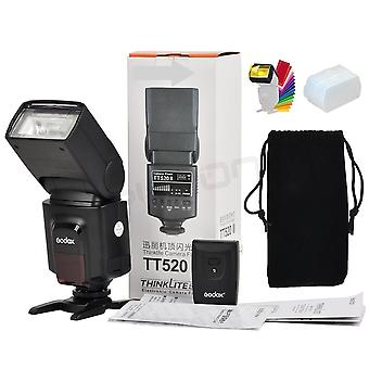 Tt520 Ii Flash Tt520ii With Build-in 433mhz Wireless Signal +color Filter Kit For Canon Nikon Pentax Olympus Dslr Cameras