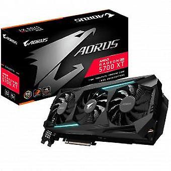 Gigabyte GV-R57XTAORUS-8GD AORUS Radeon RX 5700 XT 8G [8 GB, GDDR6, 256 bits, 448 GB/s, 600W]