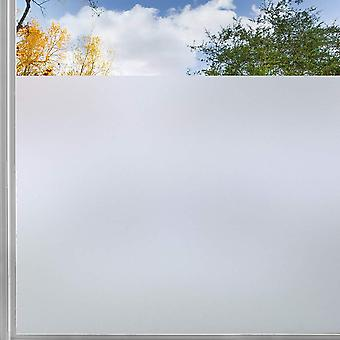 Self Adhesive Matte White Frosted Window Film, Glass Door Sticker