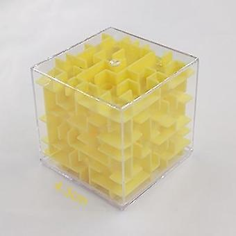 Patience Games 3d Cube Puzzle Maze Toy, Hand Game Case Box Fun Brain Game