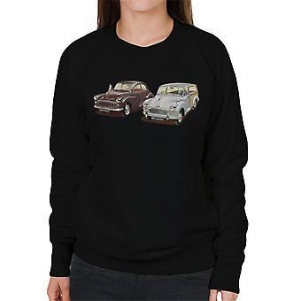 Morris Minor Classic British Motor Heritage Women's Sweatshirt