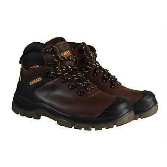 DEWALT Newark S3 Waterproof Safety Hiker Brown Boots UK 6 Euro 39/40 DEWNEWARBR6