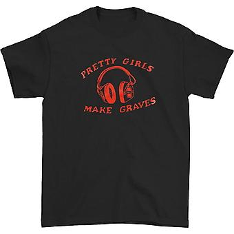 Pretty Girls Make Graves Headphones Camiseta