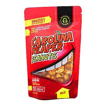 Płonące Foods Carolina Reaper Orzeszki ziemne Dziki