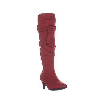 بار الثالث النساء EDINA سويد وأشار إلى الركبة أحذية أزياء عالية
