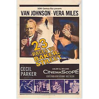 23 vauhti Baker Streetillä elokuvan juliste tulosta (27 x 40)