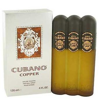 Cubano Copper By Cubano Eau De Toilette Spray 4 Oz (men) V728-461621