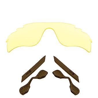 الاستقطاب استبدال العدسات عدة ل Oakley تنفيس مسار رادارلوك الأصفر براون المضادة للخدش المضادة للوهج UV400 SeekOptics