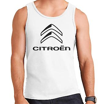 Citro�n 2016 Black Logo Men's Vest