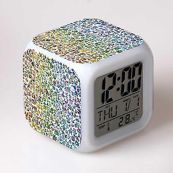 الملونة متعددة الوظائف الصمام الأطفال & apos;ق منبه ساعة -بوكيمون #13