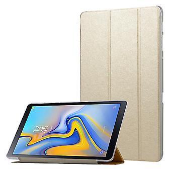 Case Ultra-thin folio case for Samsung Galaxy Tab A 10.5 T595 T590 T597 Golden