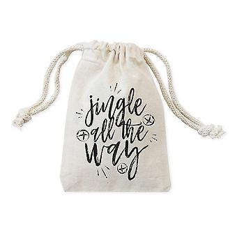 Jingle All The Way Christmas Holiday Favor Bags
