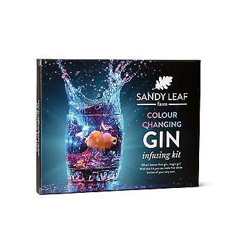 Színváltó gin infúziós készlet - készítsen egy óriási öt üvegsaját varázslatosan színes changint