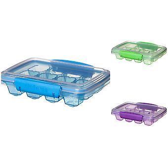 Sistema Medium Klip It Ice Cube Tray, Purple