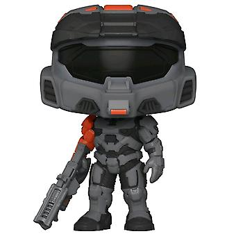 Halo I MVII Black with Shock Rifle US Exclusive Pop! Vinyl
