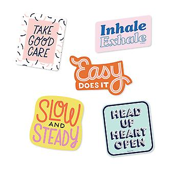 Self-care Sticker Pack Vinyl Decal Stickers