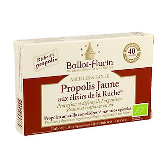 Yellow propolis with organic hive essences 40 tablets
