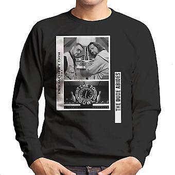 The Big Lebowski The Dude och Walter Time To Bowl Men's Sweatshirt