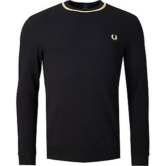 Fred Perry Re-issues Long Sleeve Pique T-Shirt