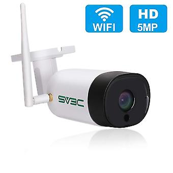 5Mp super hd wireless security camera outdoor, sv3c wifi cctv outdoor surveillance camera with 20m n