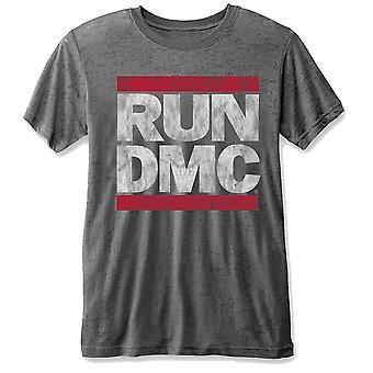 Run Dmc Dmc Logo Grey Official Tee T-Shirt Unisex