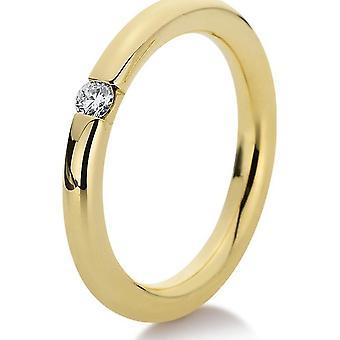 Luna Creation Promessa Solitairering 1A043G451-2 - Largura do anel: 51